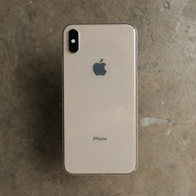 Bare Naked EX Thinnest Clear Case for iPhone XS Max - Clear on Gold
