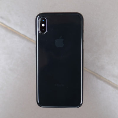Bare: Naked EX for iPhone XS Max - The Thinnest Clear Case for iPhone XS Max - Onyx