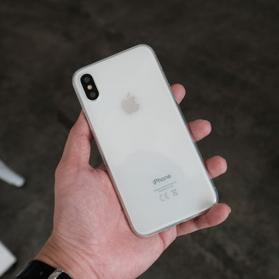 Bare: Naked EX for iPhone XS - The Thinnest Clear Case for iPhone XS - Clear