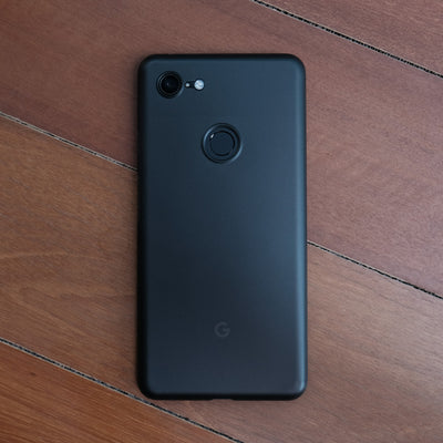 Bare Naked Ultra Thin Case for Google Pixel 3 and Pixel 3 XL - Smoke