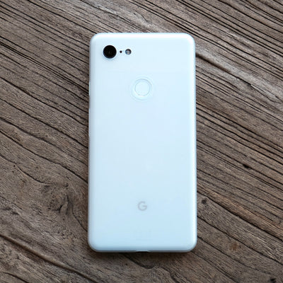 Bare Naked Ultra Thin Case for Google Pixel 3 and Pixel 3 XL - Frost