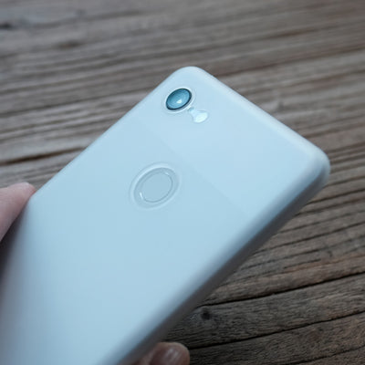 Bare Naked Ultra Thin Case for Google Pixel 3 and Pixel 3 XL - Frost in Hand