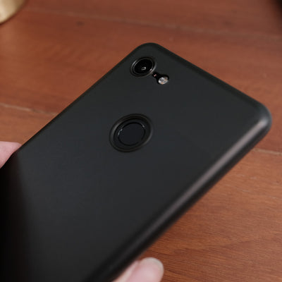 Bare Naked Ultra Thin Case for Google Pixel 3 and Pixel 3 XL - Smoke in Hand