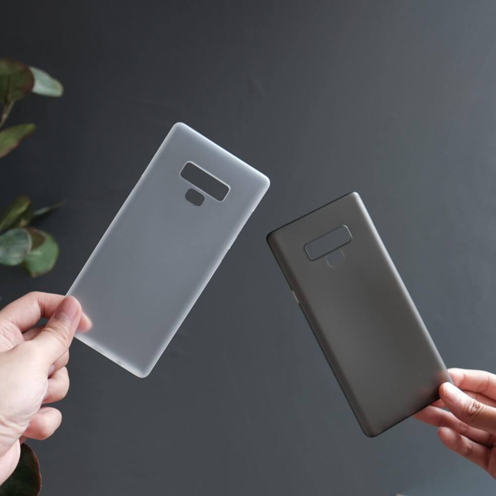 b5a63c138105 Bare Naked Ultra Thin Case for Samsung Galaxy Note 9 - Smoke and Frost