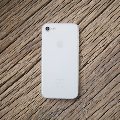 Bare Naked Ultra Thin Case for iPhone 8 and 8 Plus - Frost on iPhone 8