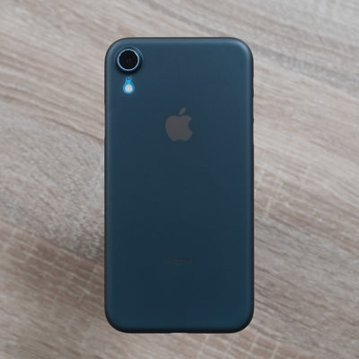 Bare Naked Ultra Thin Case for iPhone XR - Smoke on Blue