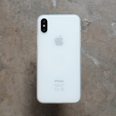 Bare Naked Ultra Thin Case for iPhone XS - Frost