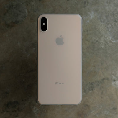 Bare Naked Ultra Thin Case for iPhone XS - Frost on Gold iPhone XS