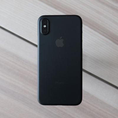Bare Naked Ultra Thin Case for iPhone XS - Smoke