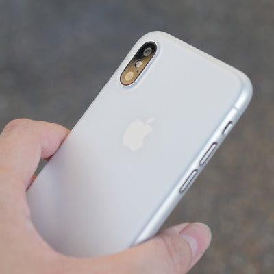 Bare Naked Ultra Thin Case for iPhone X - Frost in Hand