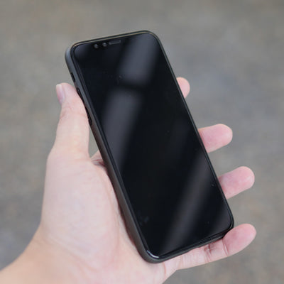 Bare Naked Ultra Thin Case for iPhone X - Smoke in Hand - Front