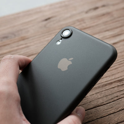 Bare Naked Ultra Thin Case for iPhone Xr - in Hand