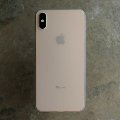 Bare Naked Ultra Thin Case for iPhone Xs Max - Frost on Gold iPhone XS Max