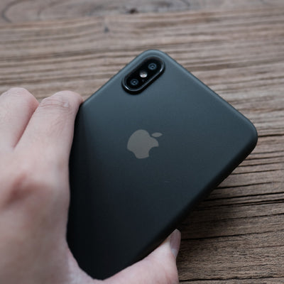 Bare Naked Ultra Thin Case for iPhone Xs Max - in Hand