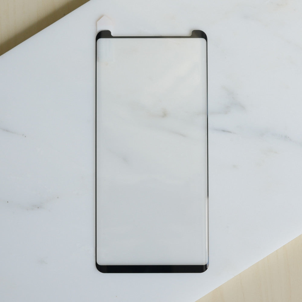 Bare Pane - Full-Coverage Tempered Glass Screen Protector with Full Adhesive for Samsung Galaxy Note 8