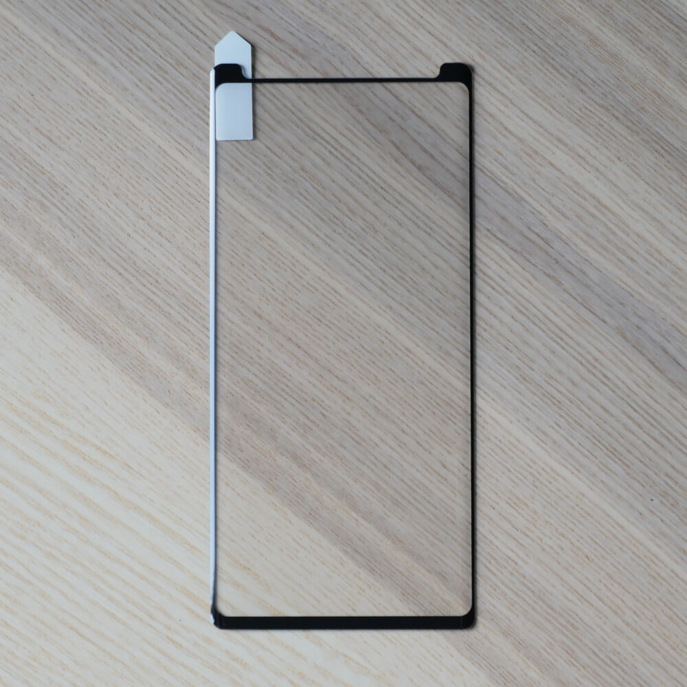 Bare Pane - Full-Coverage Tempered Glass Screen Protector with Full Adhesive for Samsung Galaxy Note 9
