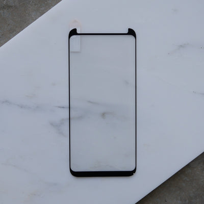 Bare Pane - Full-Coverage Tempered Glass Screen Protector with Full Adhesive for Samsung Galaxy S8