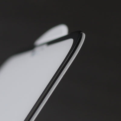 Bare Pane - Ion Strengthened Tempered Glass Full Coverage Edge to Edge Screen Protector for iPhone XS Max - Rounded Edges