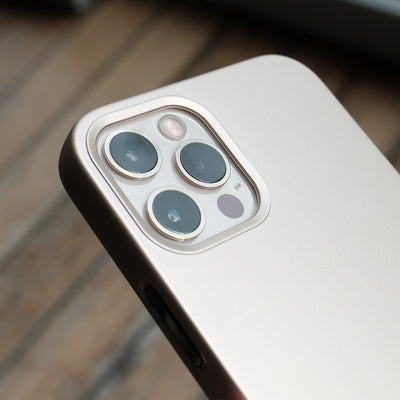The Bare Case - Ultra Thin MagSafe Case for iPhone 12 Pro and iPhone 12 Pro Max - Camera Lip