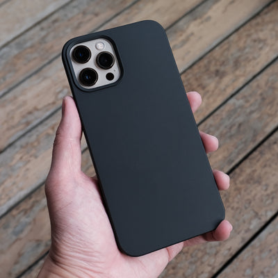 The Bare Case - Ultra Thin MagSafe Case for iPhone 12 Pro and iPhone 12 Pro Max - Graphite