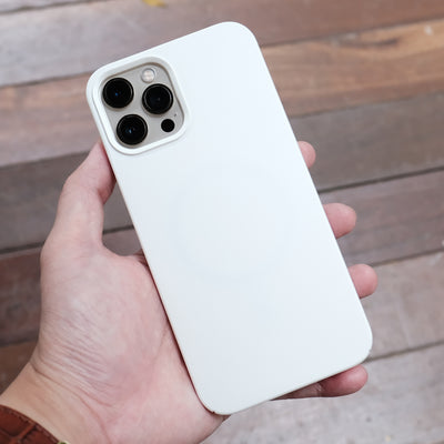 The Bare Case - Ultra Thin MagSafe Case for iPhone 12 Pro and iPhone 12 Pro Max - White