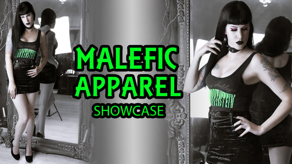 Showcasing Malefic Apparel: Gothic & Horror Themed Clothing!