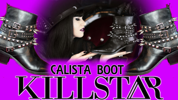 Calista Boots By Killstar! A Review of this WESTERN GOTH Style Shoe