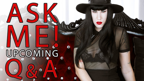 YOUTUBE: Ask Me Questions For My Upcoming Q&A - Do I Work? Drink Blood? My Nationality?