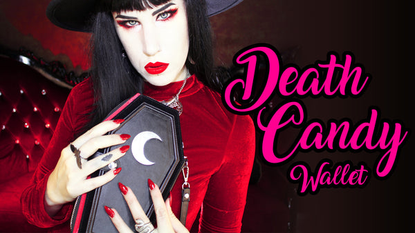 The Launch Of My Death Candy Coffin Wallet!