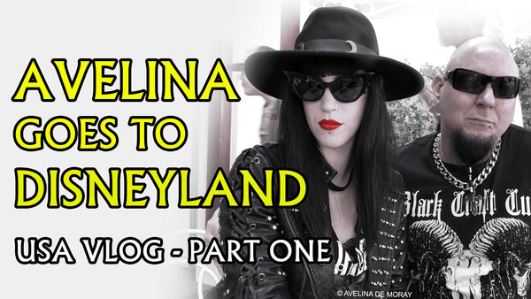 NEW YOUTUBE VIDEO: A day with three GOTHS at Disneyland - USA Vlog 1