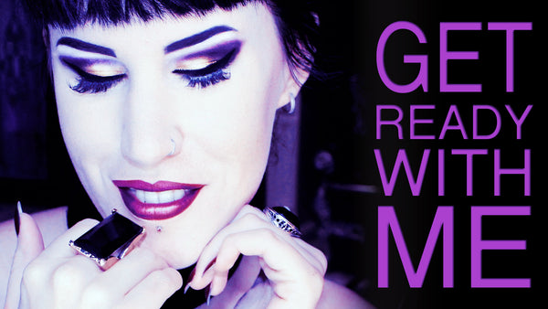 Chatty Get Ready With Me: Gothic Makeup Start To Finish | Avelina De Moray
