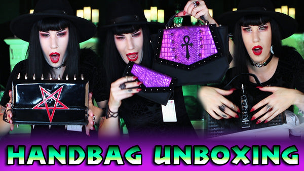 Epic Handbag Unboxing: Black Friday, The Goblin Queen, Drac, Mahafsoun + MORE