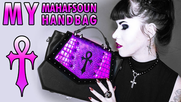 NEW YOUTUBE VIDEO: The Release of My Mahafsoun *DRAGON SKIN* Handbag & Wallet
