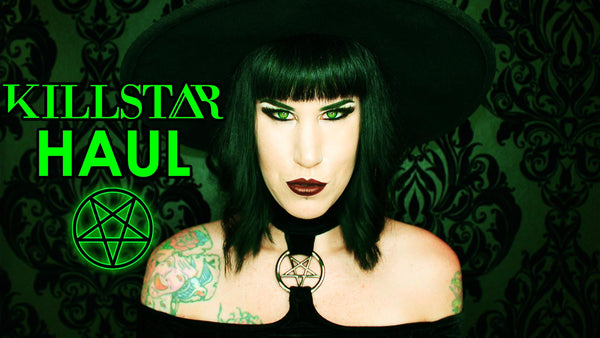 KILLSTAR haul || Try on & review Lexi Dress & Witch Brim Hat