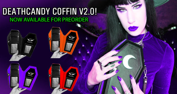 Pre Orders OPEN for my DeathCandy Coffin V2.0 wallet!