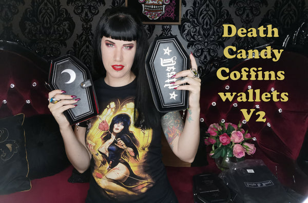 The launch of my Deathcandy V2.0 coffin wallet