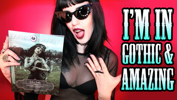 My Interview With GOTHIC & AMAZING Magazine & New Bag Previews !!!