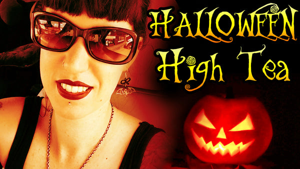 Join Me For Halloween High Tea