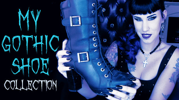 My Gothic Shoe Collection | Avelina De Moray