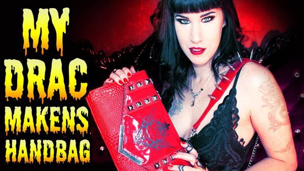 A short video showcasing my Drac Makens handbag