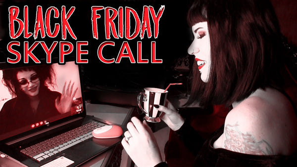 My Skype Call With ITS BLACK FRIDAY About Her Handbag