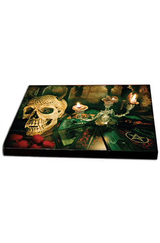 Sinners Flames Canvas