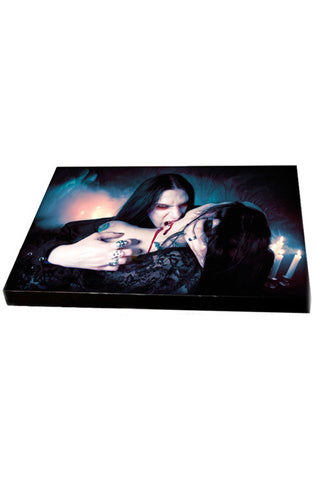 Vampire Kiss Canvas