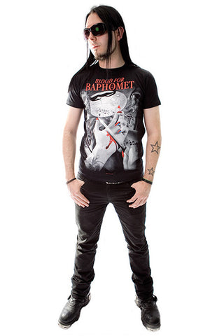 Blood For Baphomet Mens T-shirt
