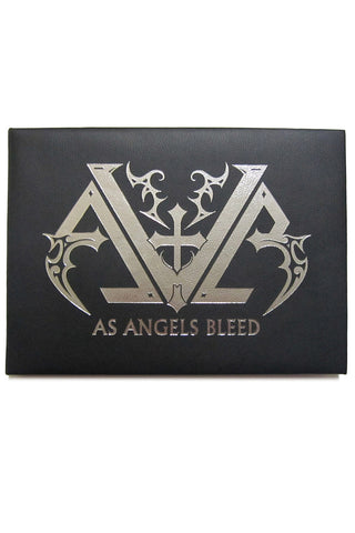 As Angels Bleed Limited Edition Book & CD *BLEMISHED*
