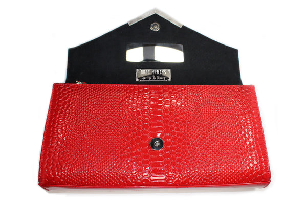 1de325464ec Drac Makens Clutch RED