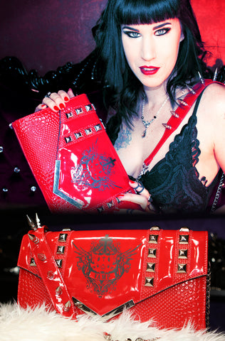 Drac Makens Clutch RED