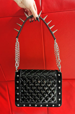 *BLEMISHED* The Little Devil Handbag RED