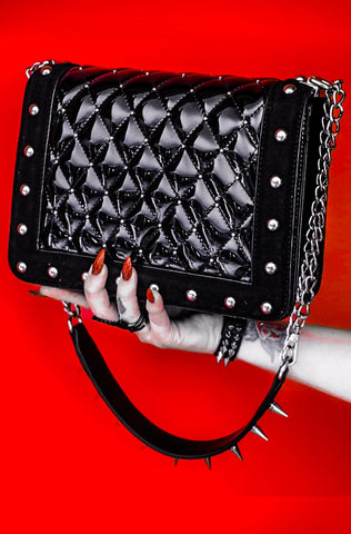 Ezme LA Morte Handbag RED INTERIOR