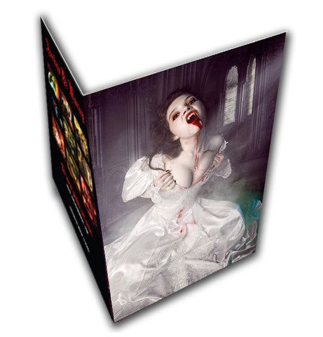 The Exorcism Of Lucy Westenra Greeting Card